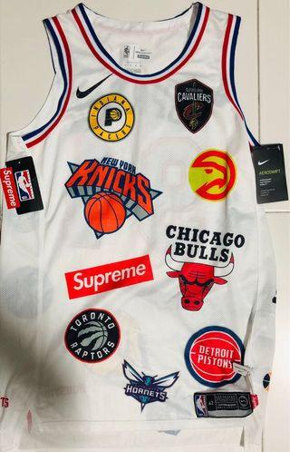 Supreme Nike / NBA Teams Authentic jersey White