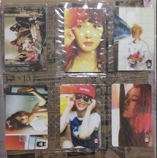 f(x) Pink Tape Official Photocard
