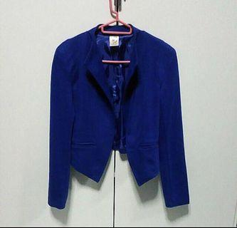 Chic Blue Blazer