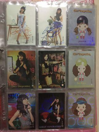 Girls Generation Star Collection Card