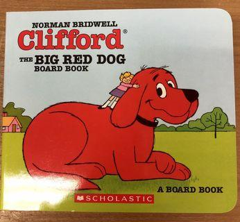 (100% new 兒童書)Clifford the big red dog