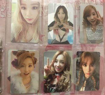 Girls Generation Taeyeon Official Photocard