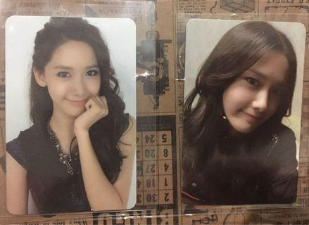 Girls Generation Yoona Official Photocard