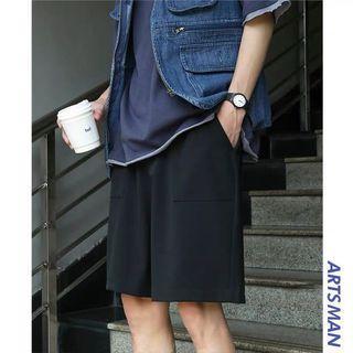 【 Gshop.】夏季休閒褲運動薄款短褲五分褲寬鬆褲子