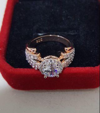 Zironia ring