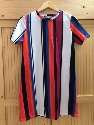 Zara Rainbow dress
