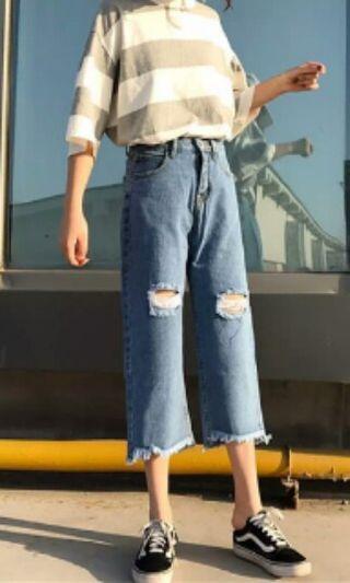 seluar jeans korea