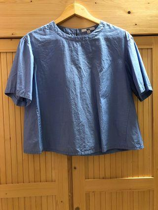 Uniqlo Baby Blue Shirt
