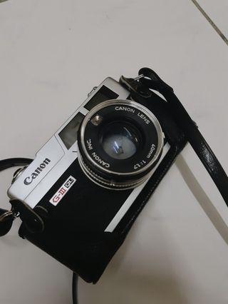 canon giii ql17 底片相機
