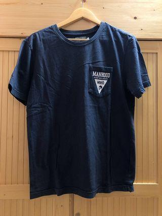 Navy Blue pocket T-shirt