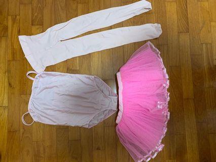 🚚 Dance pointe Ballet Outfit
