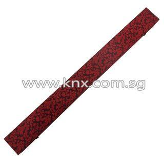 In Stock – MIS 0142L – Red Plywood Katana Case