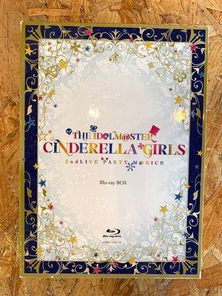 偶像大師 IDOLMASTER IDOLM@STER Cinderella Girls 2nd Live Blu-ray box 九成新 CO001