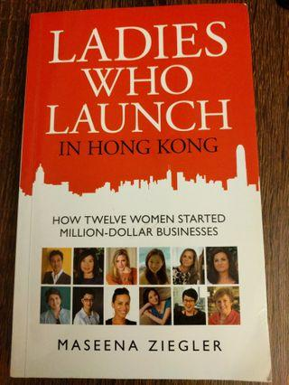 Ladies Who Launch Hong Kong Book