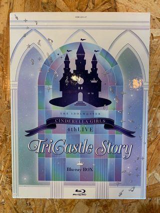 偶像大師 IDOLMASTER IDOLM@STER Cinderella Girls 4rd Live Blu-ray box 九成新 CO003