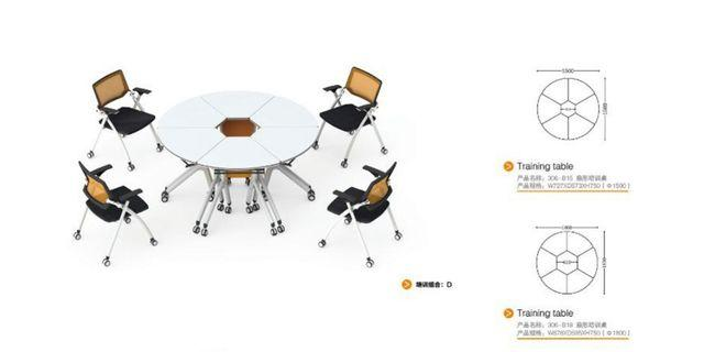 Round table - foldable