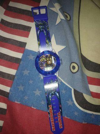 #BAPAU jam tangan anak transformer