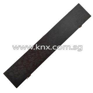 In Stock – MIS 0143S – Black Plywood Tanto Case