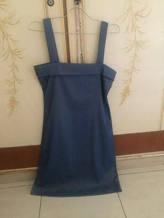 Authentic Mug blue dress