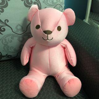 🚚 粉紅小熊兩用頸枕