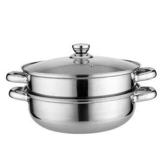 High Quality Double Layer Stainless Steel Cooking Pot