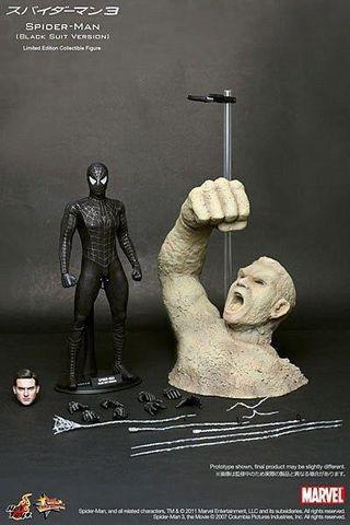 Hot Toys Spiderman 3 Black Suit Version MMS165 蜘蛛俠 黑蜘蛛俠