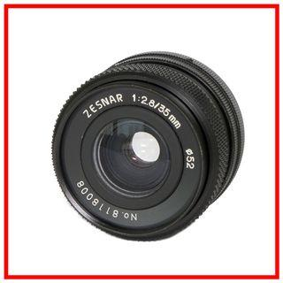 Zesnar FD 35mm F2.8 Manual Wide Angle Lens [Canon FD Mount]