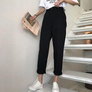 Korean Highwaist Stretchable Lose Pants