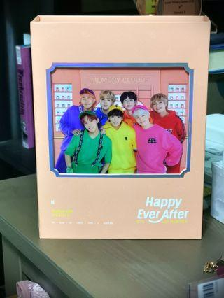 Bts 4th muster dvd unsealed