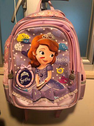 Sophia School Bag,迪士尼公主系列蘇菲亞書包