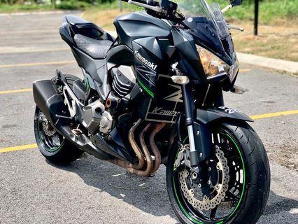 Kawasaki Z800 sambung bayar