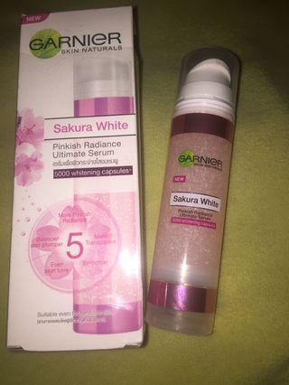#BAPAU Garnier sakura white serum
