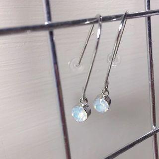 韓系氣質垂吊式耳環