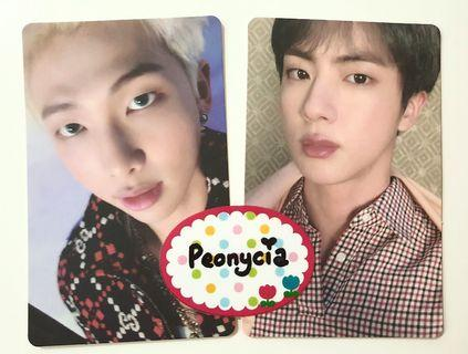 [WTS] BTS Map of The Soul : Persona [RM & JIN photocards]