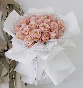 Large size fresh rose bouquet 🌸 gift flowers 🌸 birthday flowers 🌸 graduation bouquet 🌸