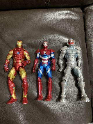 Marvel legends select legends Spider-Man Ironman legends select hulk batman avengers captain America hulk batman venom carnage thanos Thor