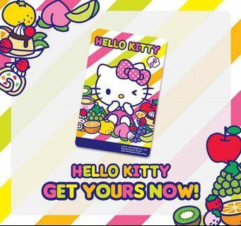 🚚 Brand New Sealed limited edition Hello Kitty Sanrio Fruity-themed EZ-Link ezlink card