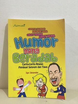 Buku Humor yang beradab by Igo Iskandar