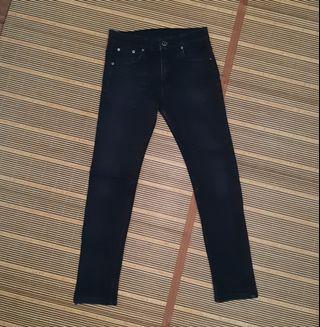 Evil Army Black Skinny Jeans Size 30 Original