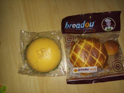 breadou squishy jdream pao squishy
