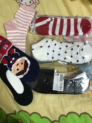Giordano/ baleno / 韓國/ 無牌子 襪子Socks