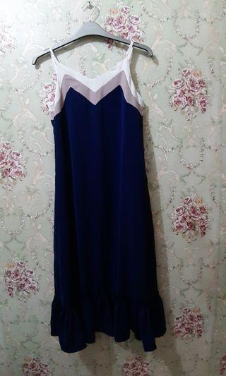 Dress navy chocohips