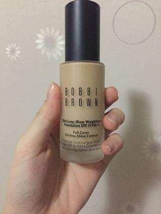 Bobbi brown skin long wear foundation