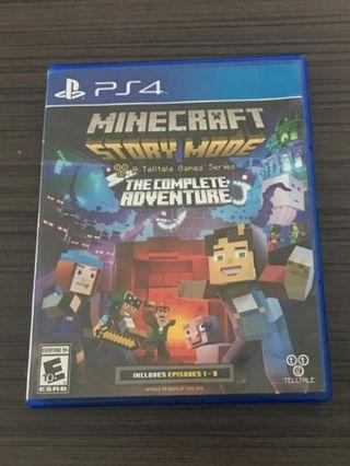 PS4: Minecraft: Story Mode- The Complete Adventure