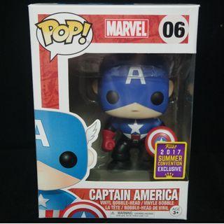 [SDCC 2017] Captain America Bucky  Funko Pop
