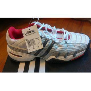 全新 adidas Barricade 網球鞋, US 10