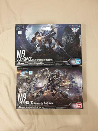 <Clearances> M9 Gernsback Commander + Aggressor