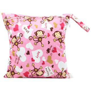 【YYB 13】L Size (30*28cm) Wetbag / Baby Diaper Wet Bag / Childcare Bag / Travel Bag