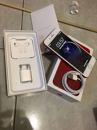 iPhone 7 Plus 128GB Red Edition Mulus