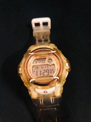 Baby-G BG-169G White-Rose Gold